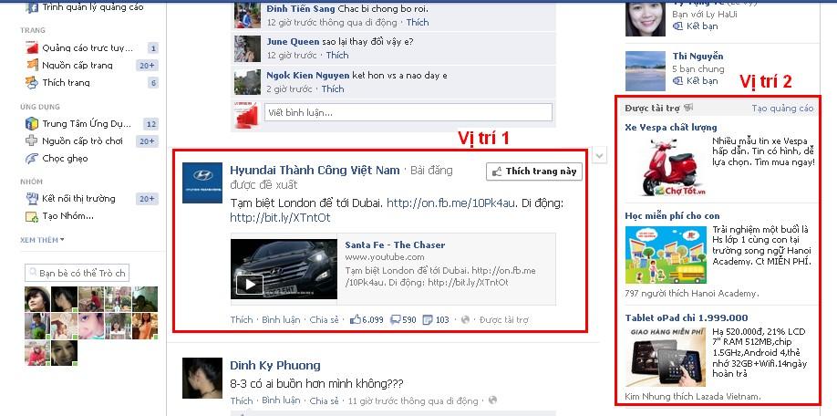 quảng cáo facebook 1