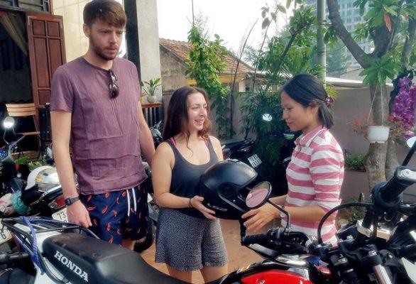 thuê xe máy tại hội an