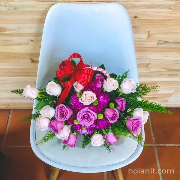 shop hoa ở hội an