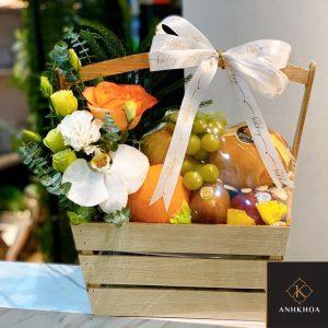 giỏ hoa quả đẹp
