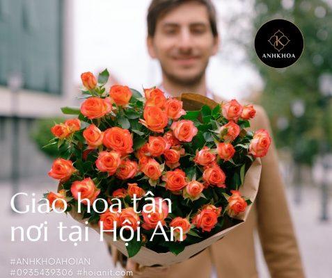 giao hoa tươi tận nơi hội an