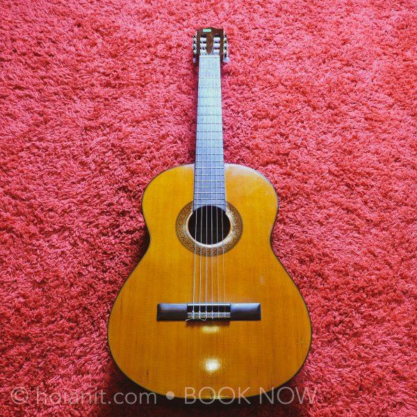 đàn guitar hội an