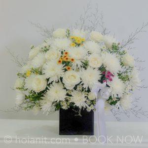 hoa đám tang hội an