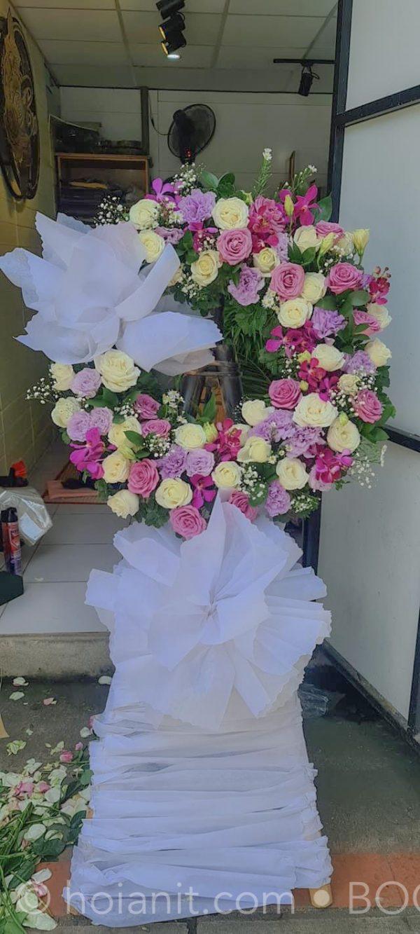 hoa chia buồn hội an