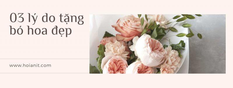lý do tặng hoa tươi