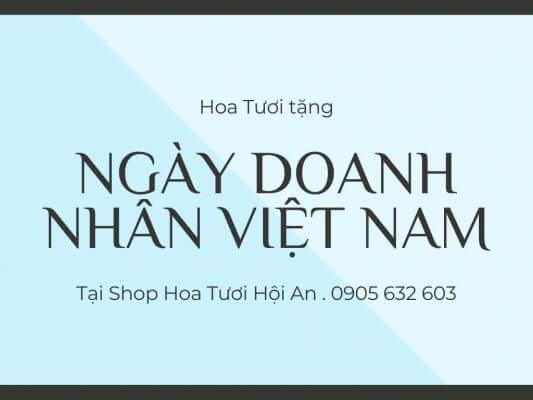 Hoa tươi tặng ngày doanh nhân Việt Nam