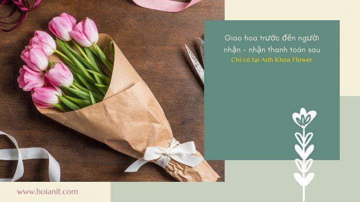 Đặt hoa tươi dễ dàng