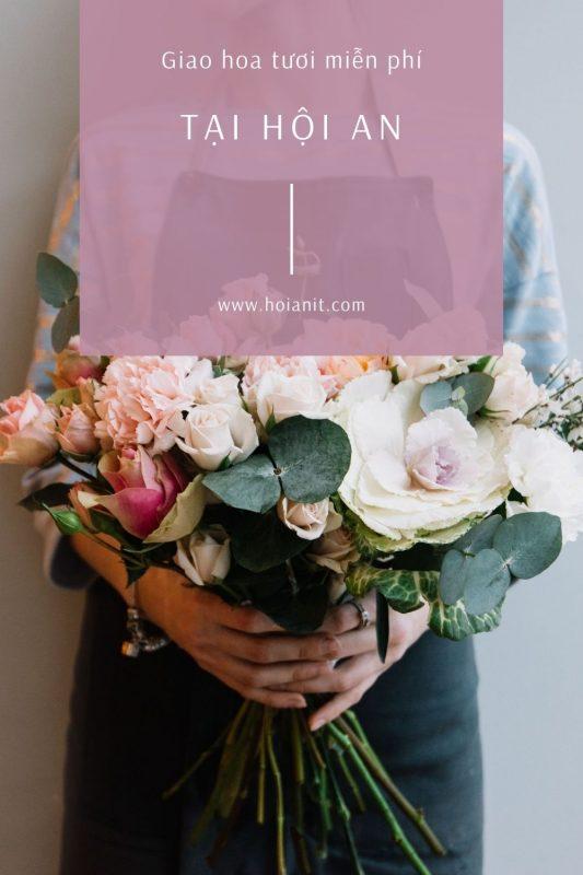 Giao hoa tươi Hội An