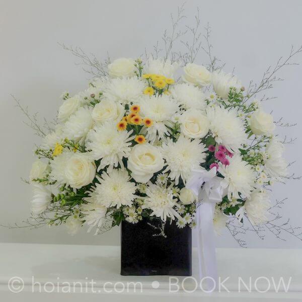 Hoa tang để bàn
