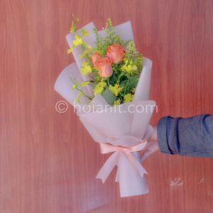 Bó hoa tươi hội an