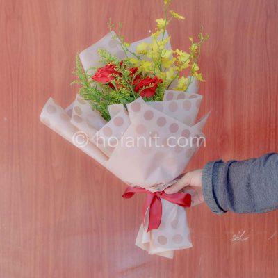 hoa bó tặng sinh nhật