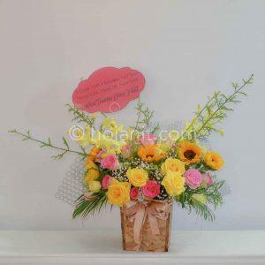 hoa giỏ