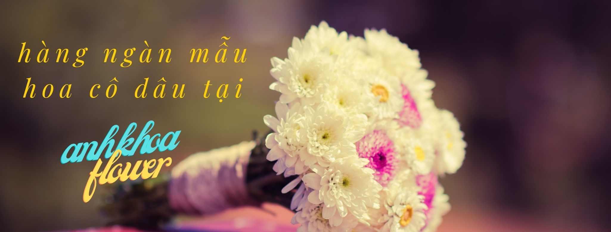 hoa bó cô dâu
