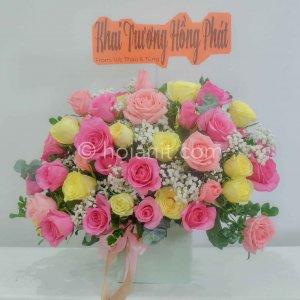 hoa tươi khai trương