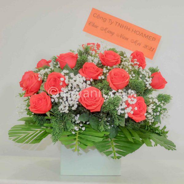 tặng hoa hội an