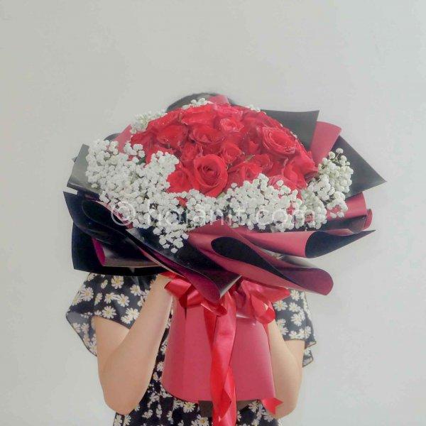 hoa bó tình yêu
