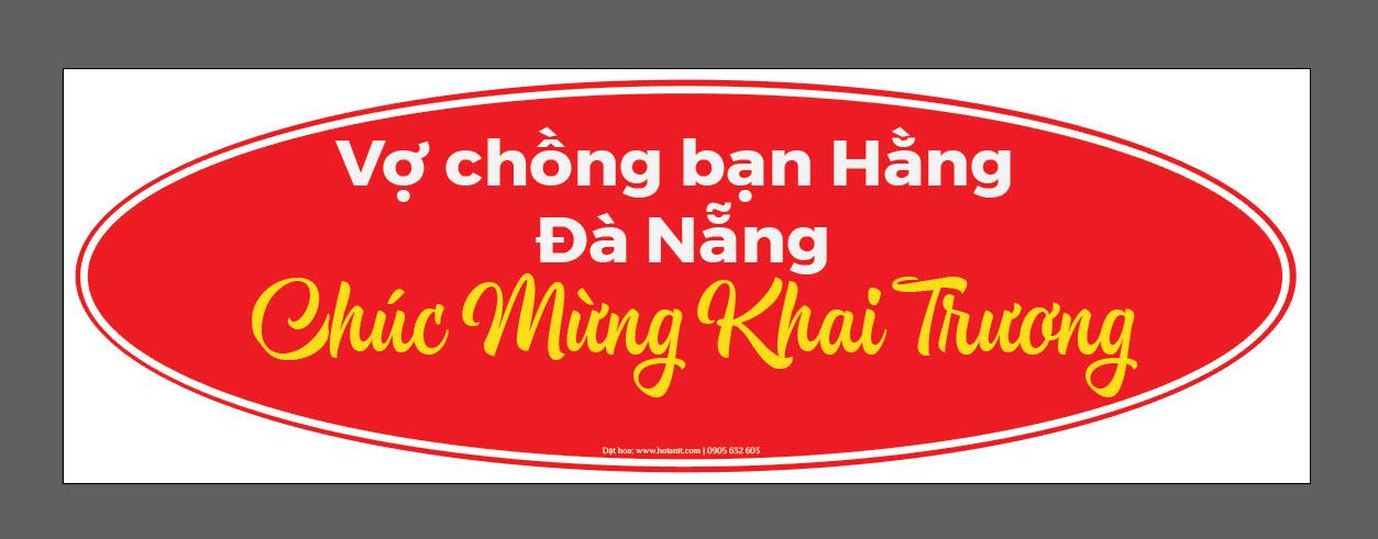 banner hoa khai trương