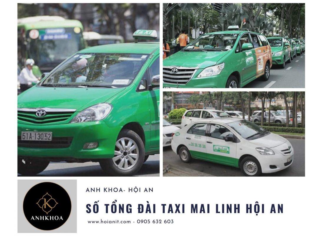 taxi mai linh hội an