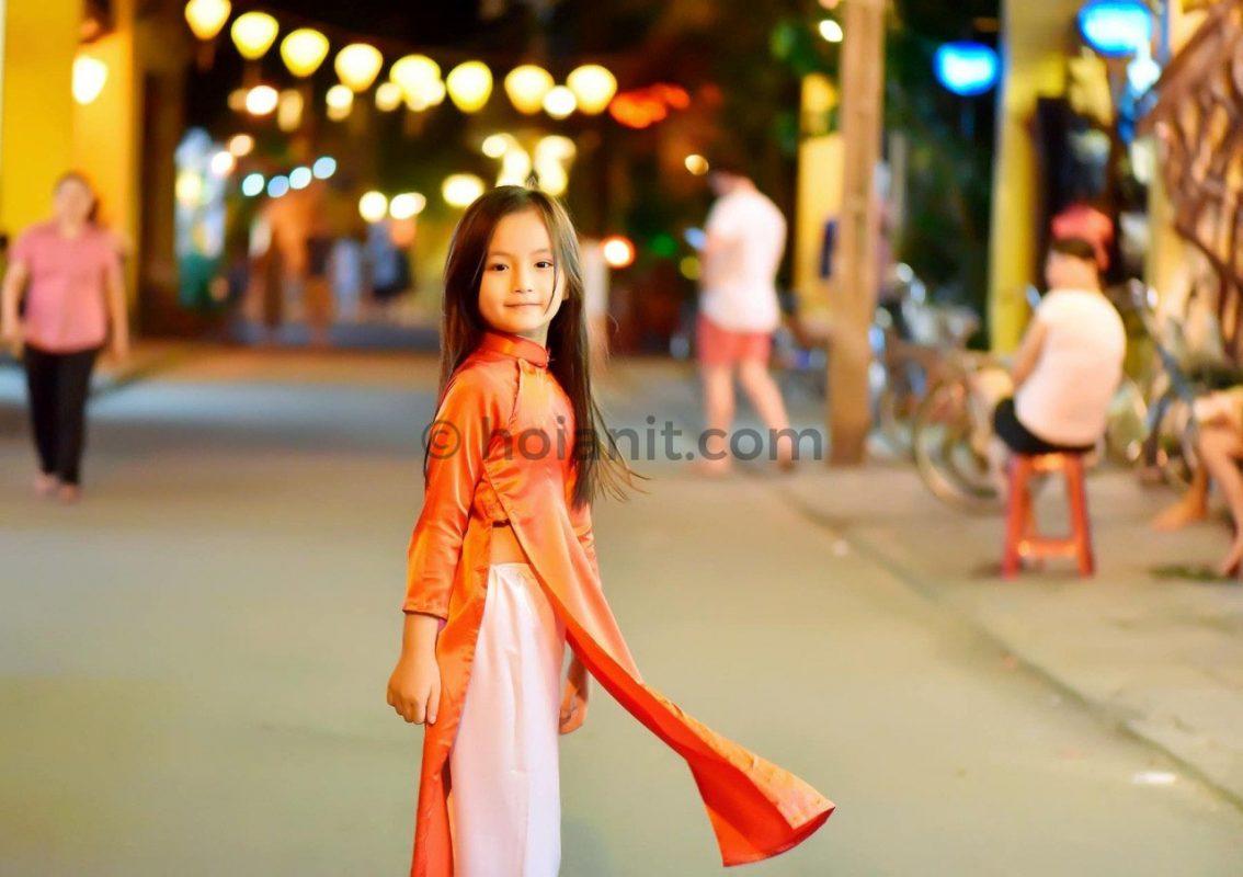 thuê áo dài hội an