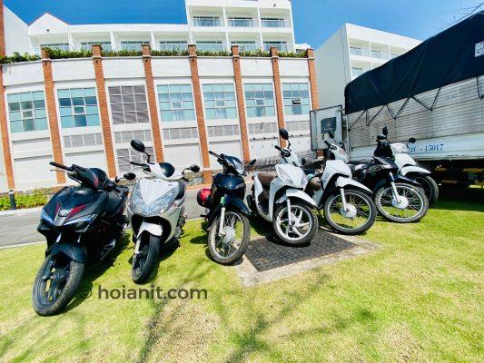 Cho thuê xe máy tại Hội An