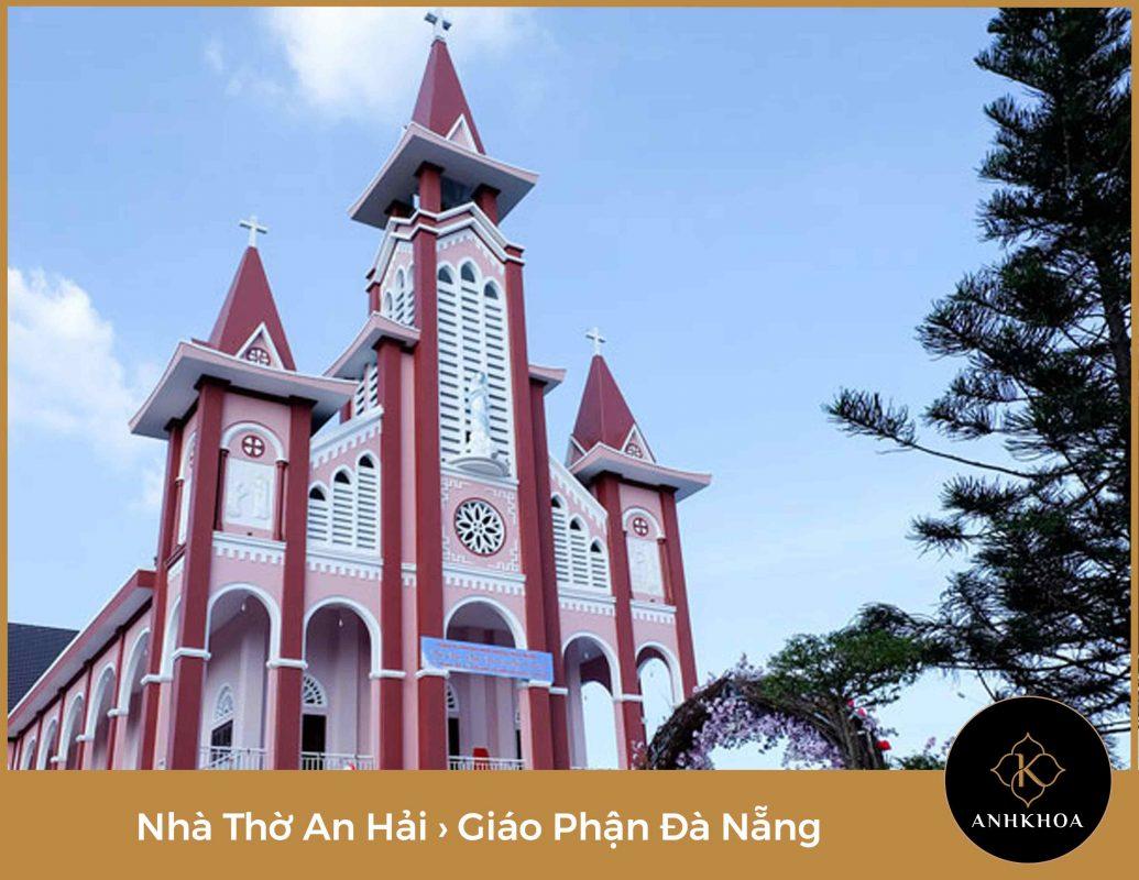 giờ lễ nhà thờ an hải đà nẵng