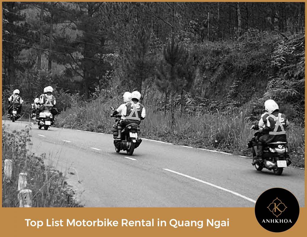 motorbike rental in quang ngai