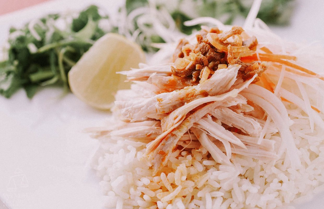 hoi an chicken rice