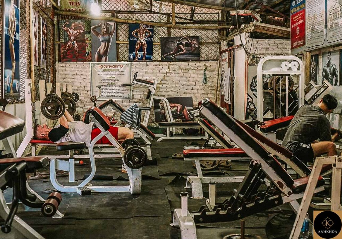 Crossfit Fitness Yoga center Hoi An