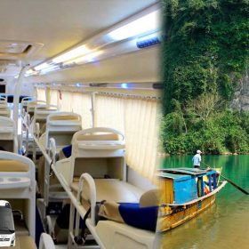 Hoi An to Phong Nha Cave Bus