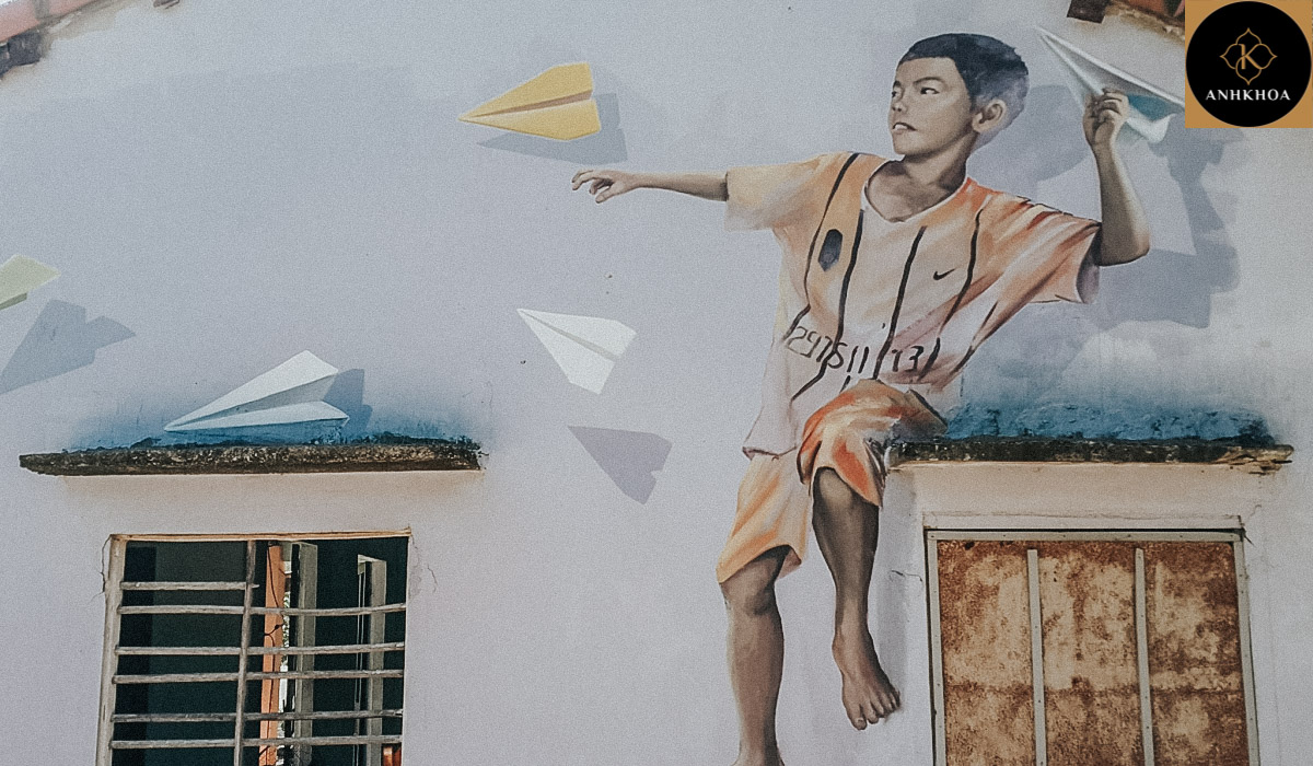 Hoi An to Tam Thanh Mural Village by Private Car