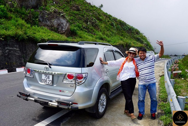 private car from hoi an to hue 3