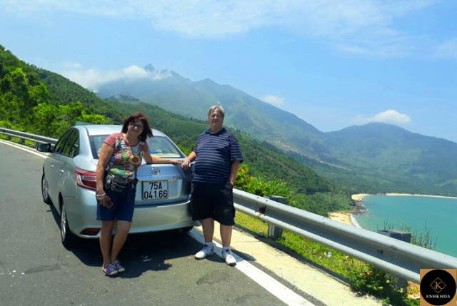 private car from hoi an to hue 6