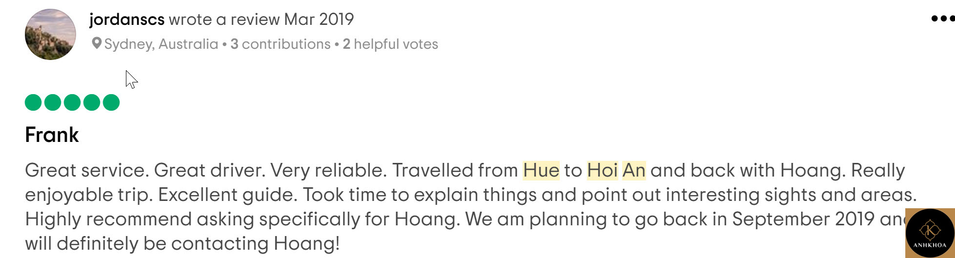 review hoi an to hue by car 3