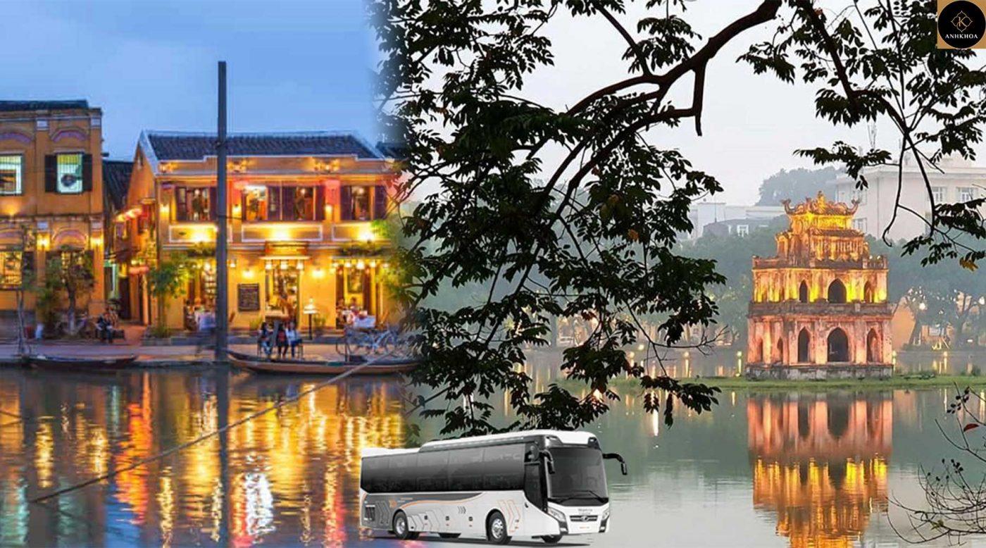 Hoi An to Hanoi Bus
