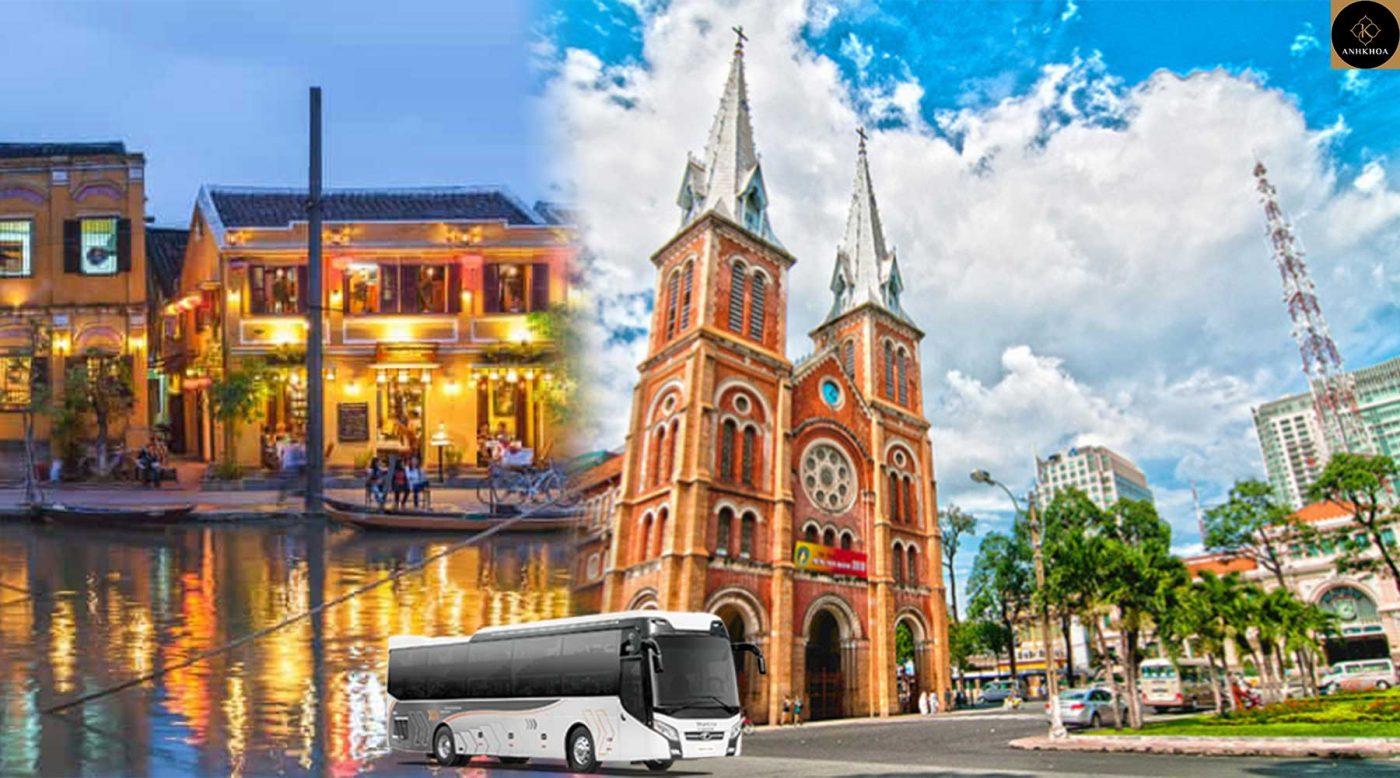 Hoi An to Saigon Bus