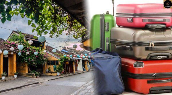 xe trung chuyển hành lý hội an