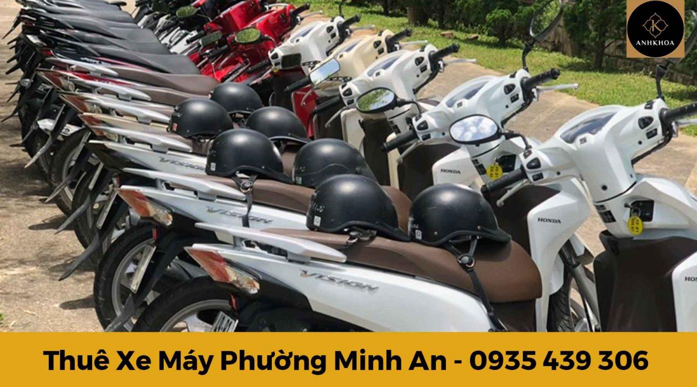 Thuê xe máy Minh An - Hội An